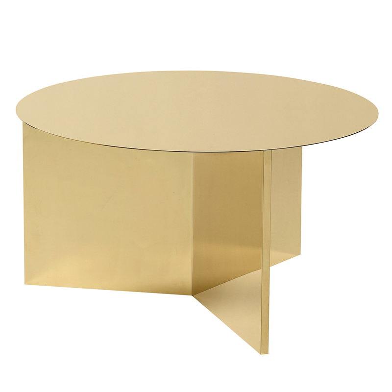 Hay Slit table, XL, brass