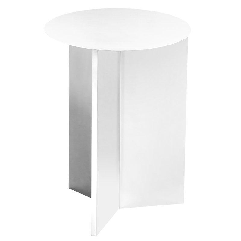 Tavolo Alto Bianco.Tavolo Slit Alto Bianco