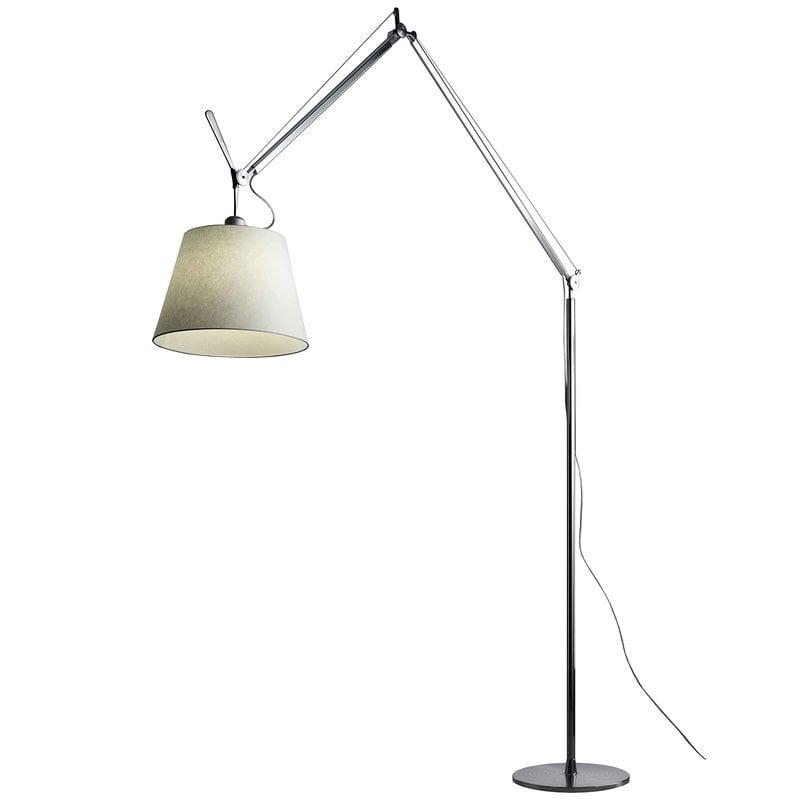 Artemide Tolomeo Mega floor lamp 36 cm, aluminium - parchment