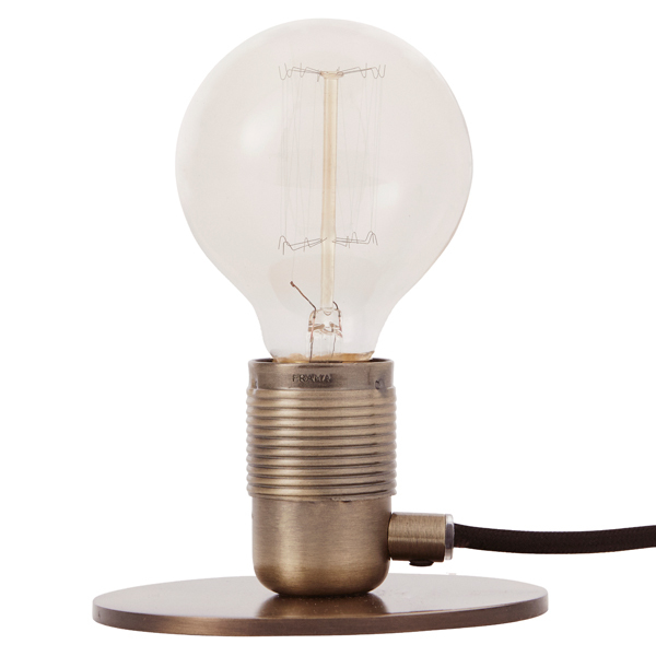 Frama E27 table light, bronze