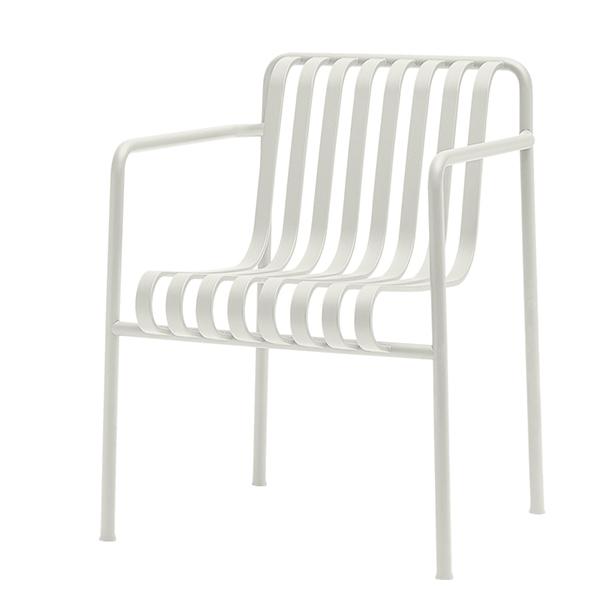 Hay Palissade dining armchair, cream white