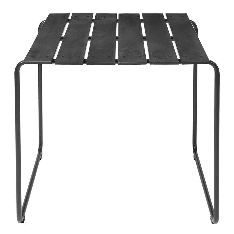 Mater Ocean table 70 x 70 cm, black
