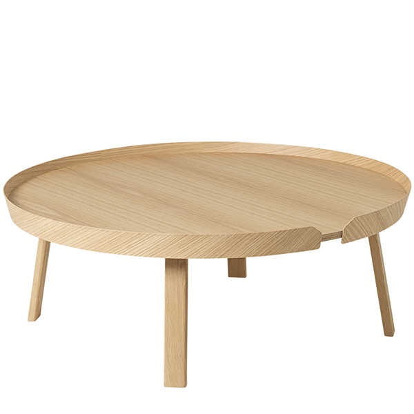 Muuto Around coffee table, XL, oak