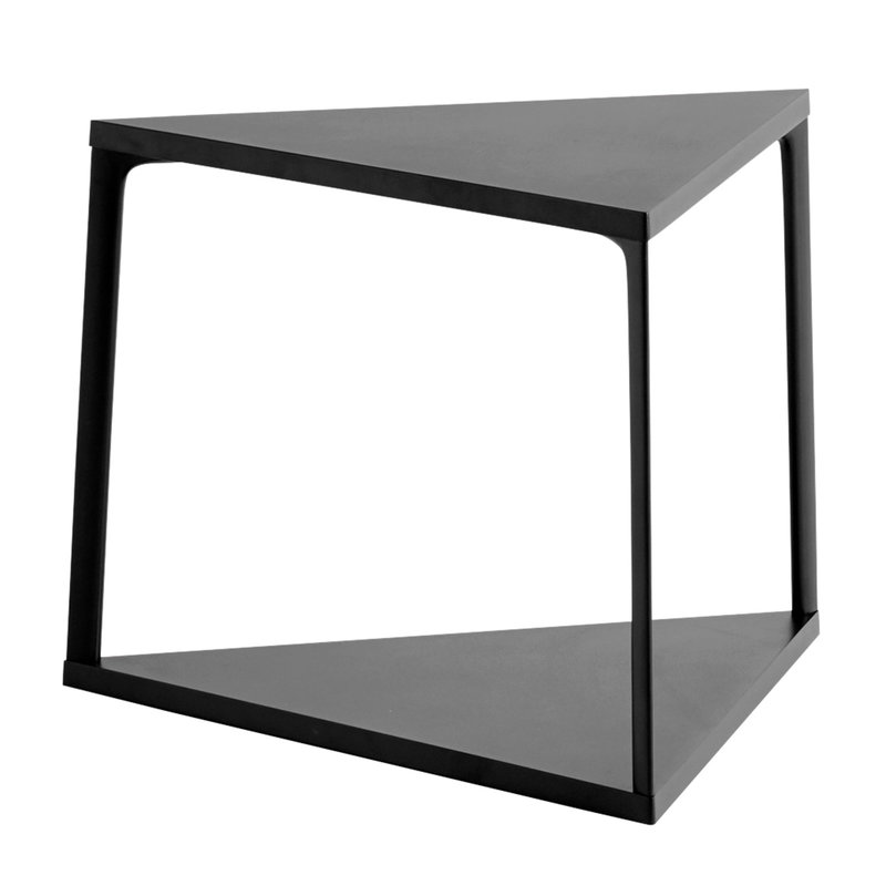 Hay Eiffel side table 52 x 52 cm, triangle, black