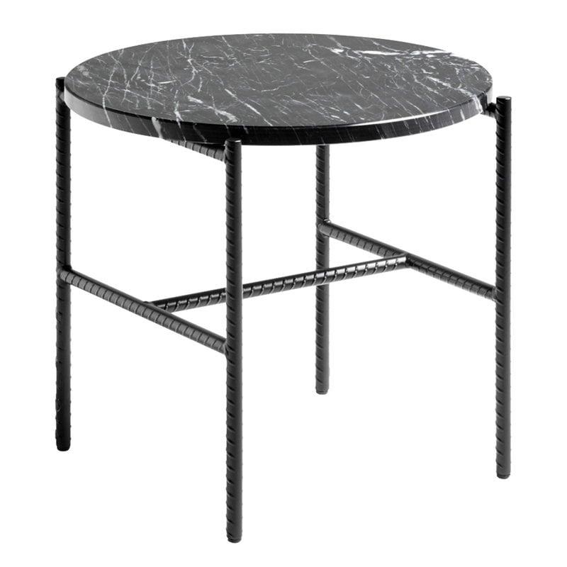Hay Tavolino d'appoggio Rebar 45 cm, marmo nero