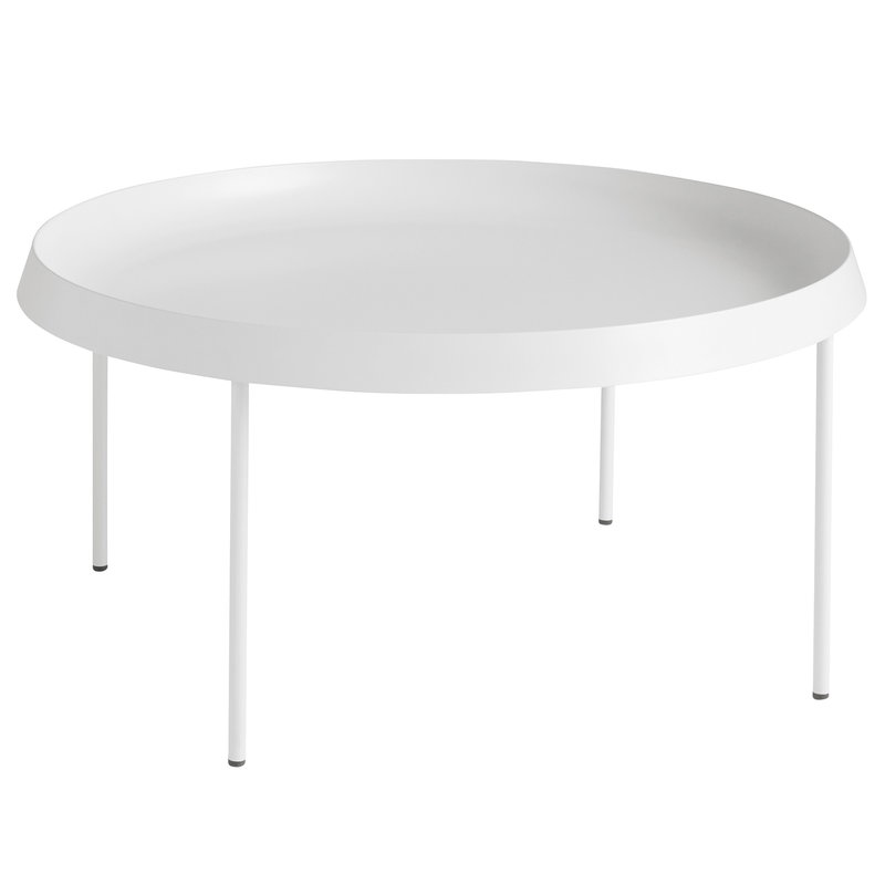 Hay Tulou coffee table 75 cm, off white