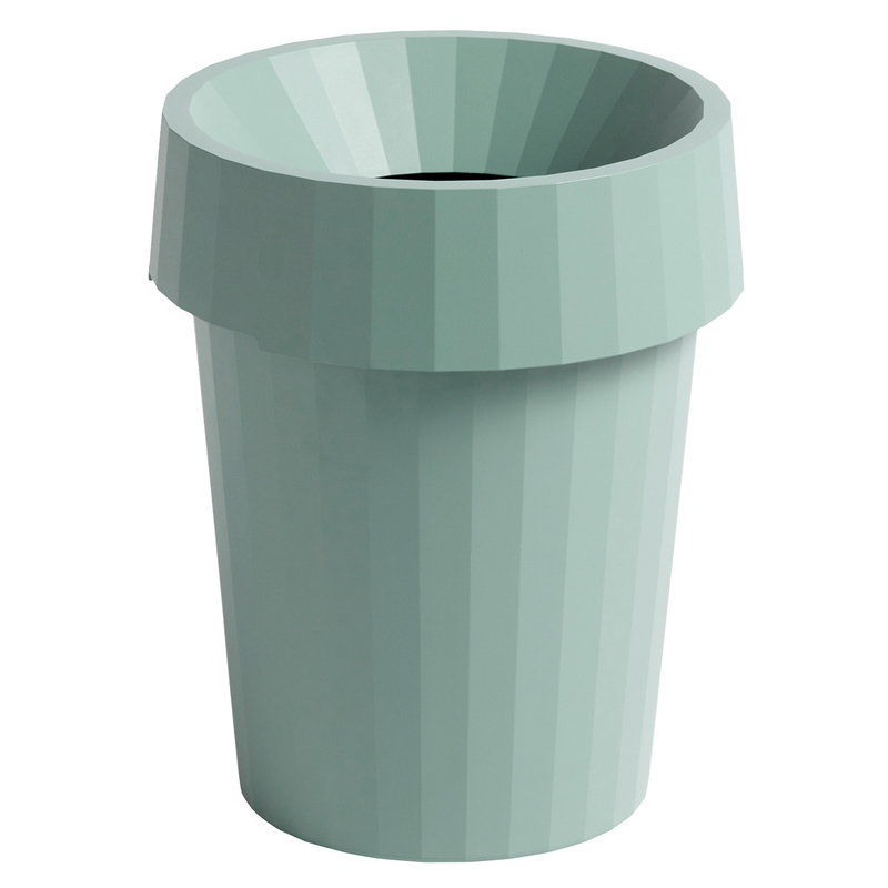 Hay Cestino Shade Bin, dusty green