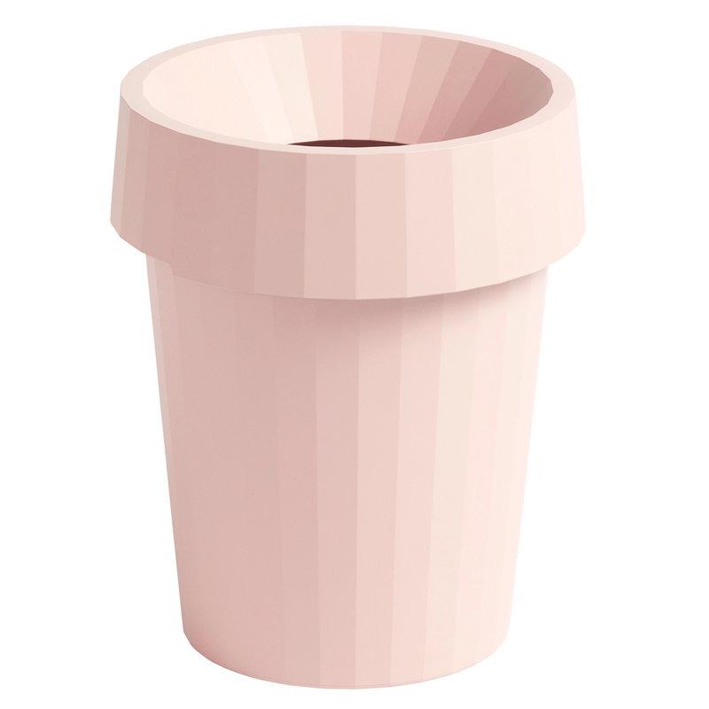 Hay Shade Bin roskakori, vaaleanpunainen