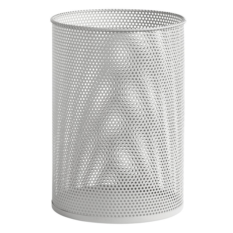 Hay Perforated Bin, L, light grey