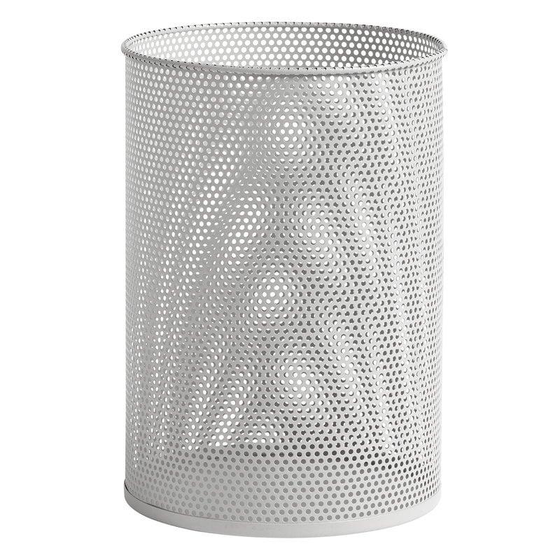 Hay Cestino Perforated Bin, L, grigio chiaro