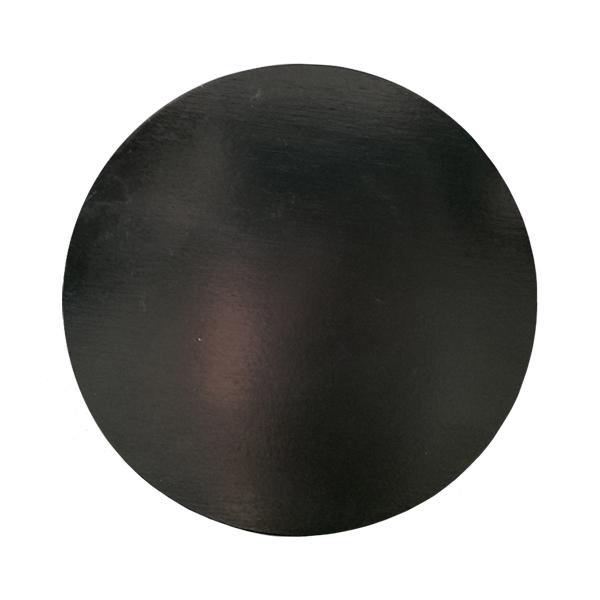 Design Letters Wooden lid, large, black