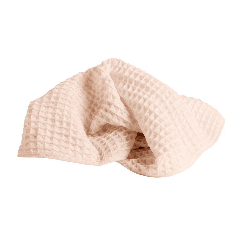 Hay Giant Waffle guest towel, nude