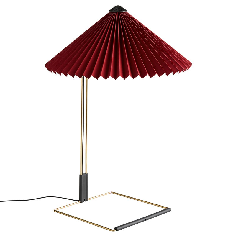 Hay Matin table lamp, large, oxide red