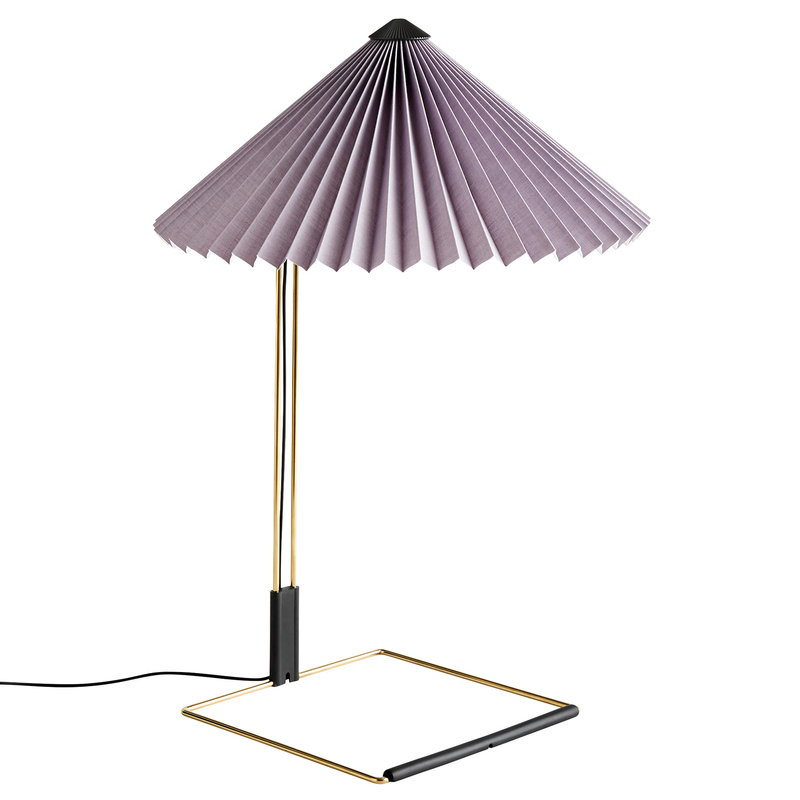 Hay Matin table lamp, large, lavender