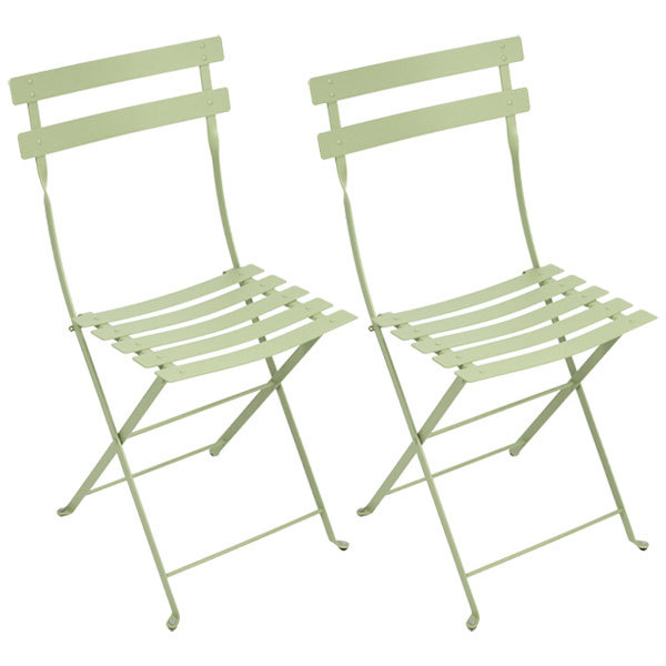 Fermob Bistro Metal chair, 2 pcs, willow green
