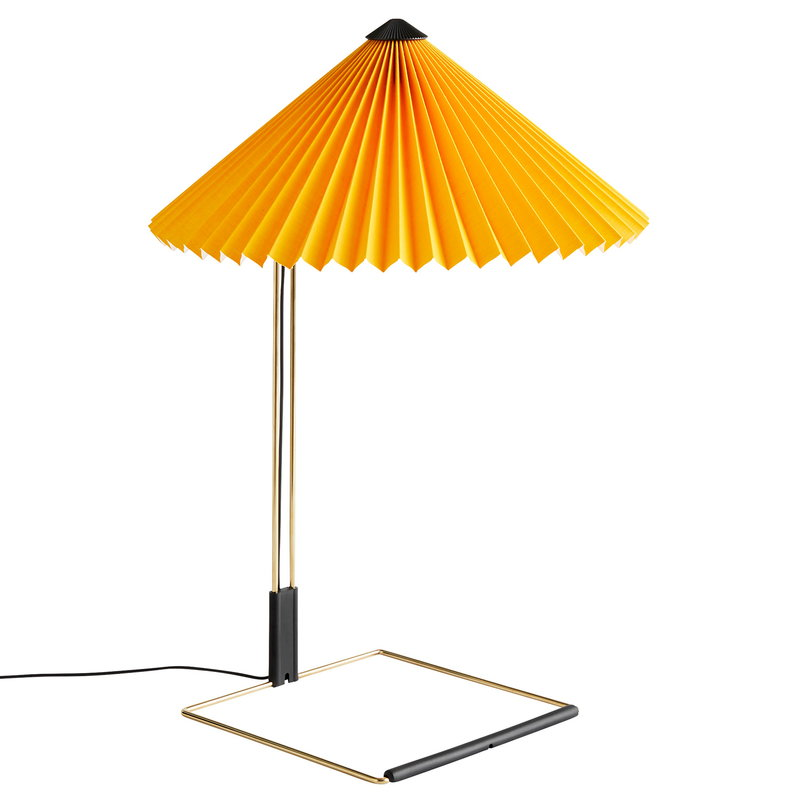 Hay Matin table lamp, large, yellow