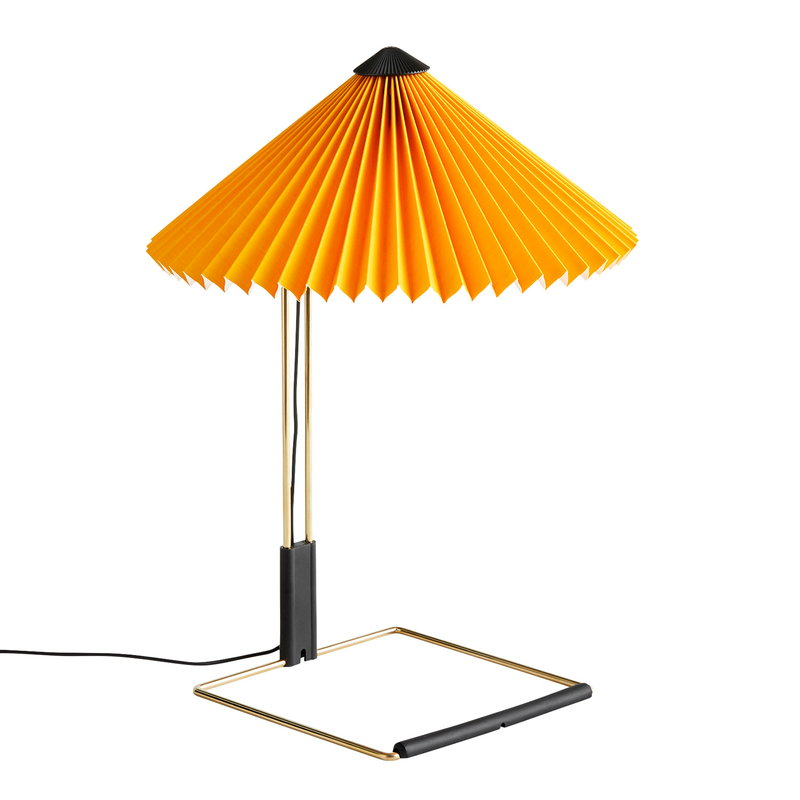 Hay Matin table lamp, small, yellow