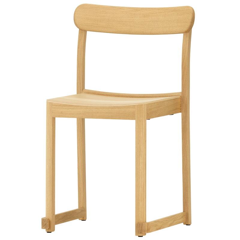 Artek Atelier tuoli, lakattu tammi