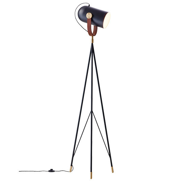 Le Klint Carronade 360M floor lamp, black
