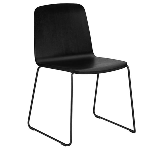 Normann Copenhagen Just Chair, Black