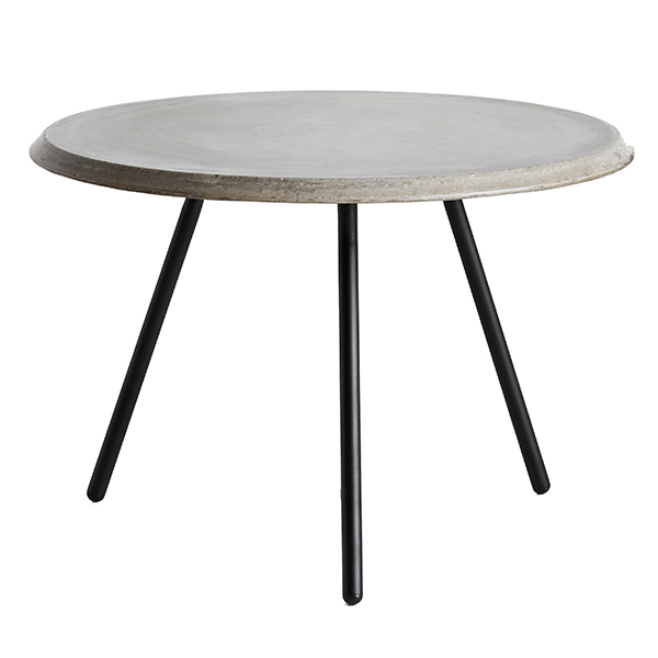 Woud Soround coffee table, concrete top