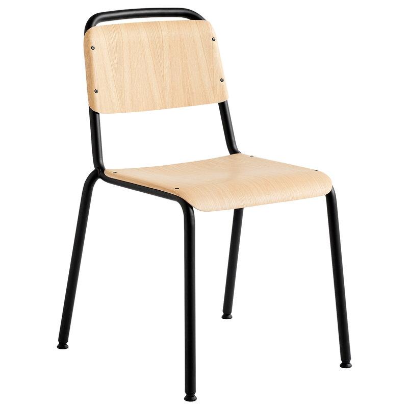 Hay Halftime tuoli, musta - mattalakattu tammi