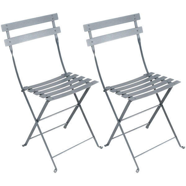 Fermob Bistro Metal chair, 2 pcs, storm grey