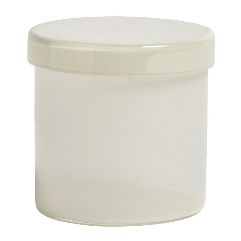 Hay Säilytyspurkki, L, maidonvalkoinen