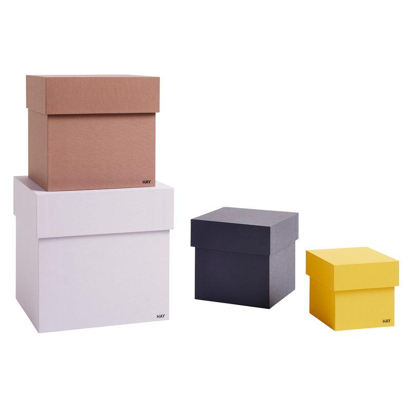 Hay Box Box storage boxes 4 pcs, lavender