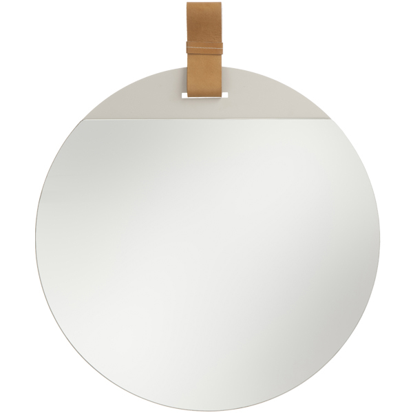 Ferm Living Enter mirror, large, brown