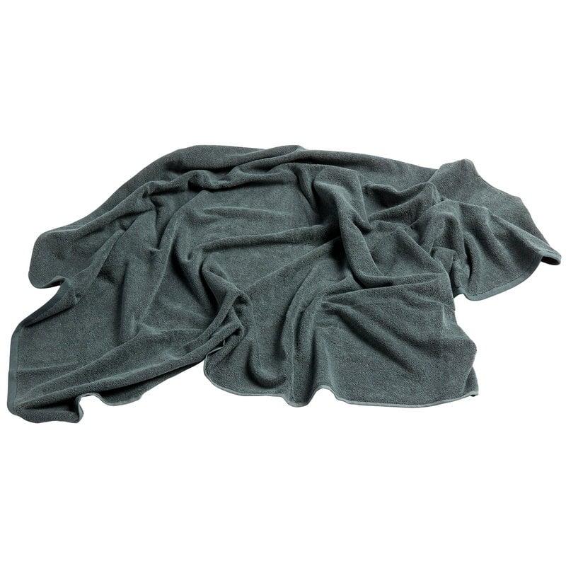 Hay Frotte pyyhe 150 x 100 cm, tummanvihreä