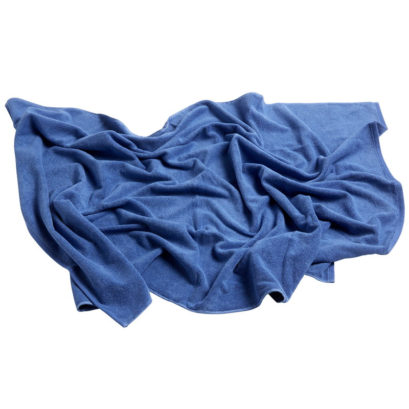 Hay Frotte towel 150 x 100 cm, blue
