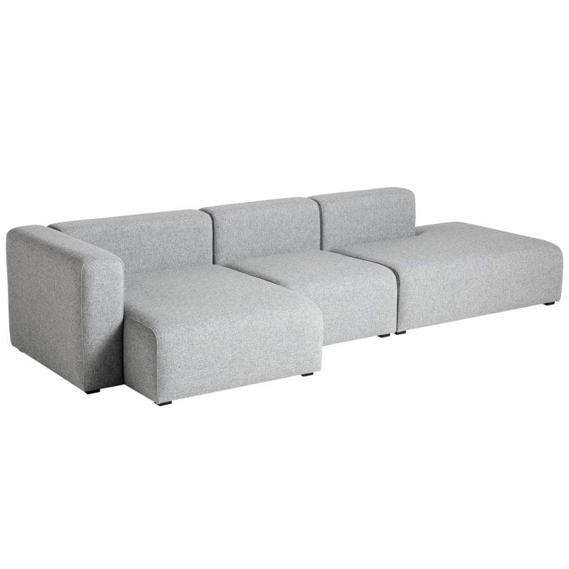 Hay Mags sofa 3-seater, Combination 4 left, Hallingdal 130
