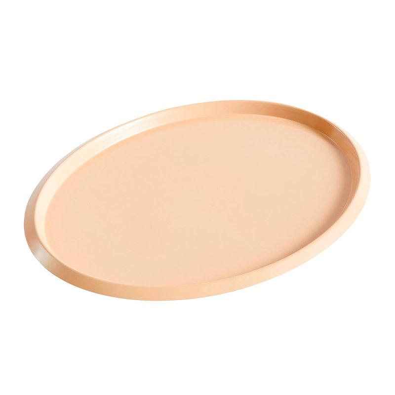 Hay Ellipse tray, M, beige