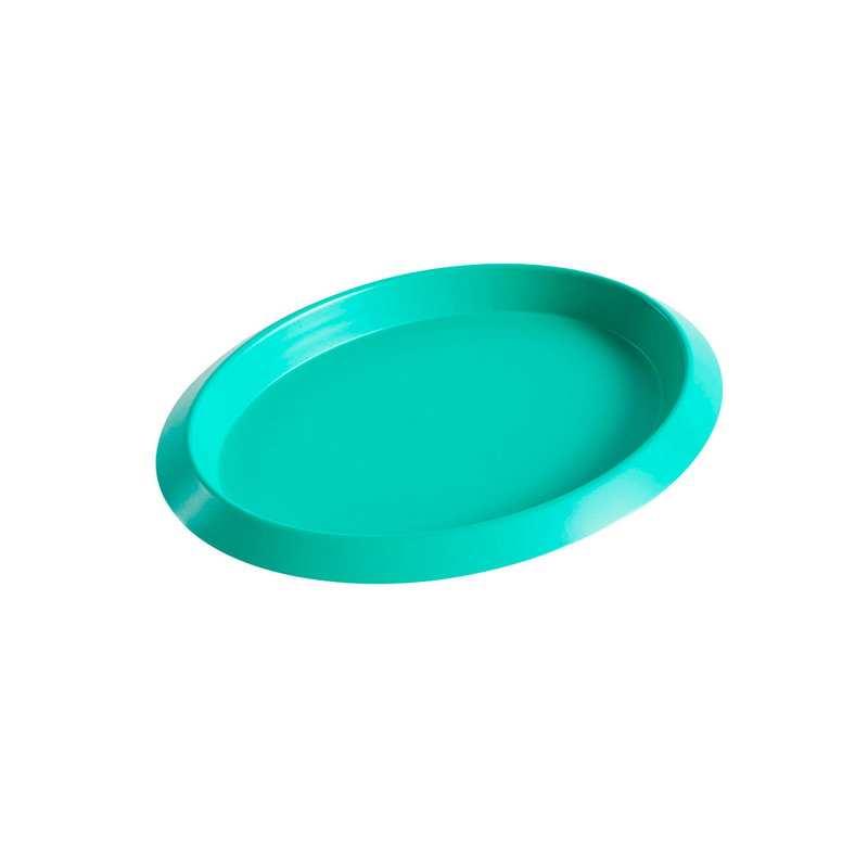 Hay Ellipse tray, XS, green