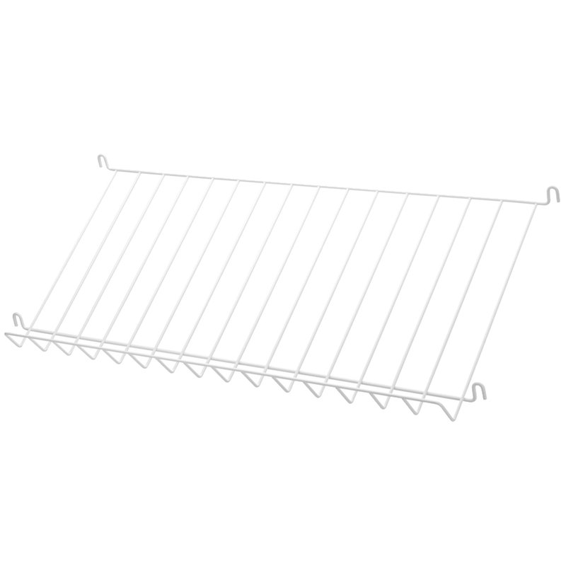 String String magazine shelf, 78 x 30 cm, white steel