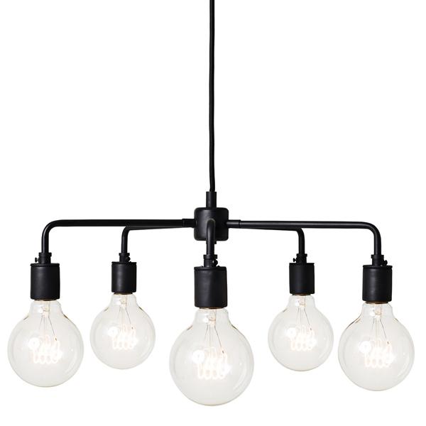 Menu Tribeca Leonard pendant lamp, black