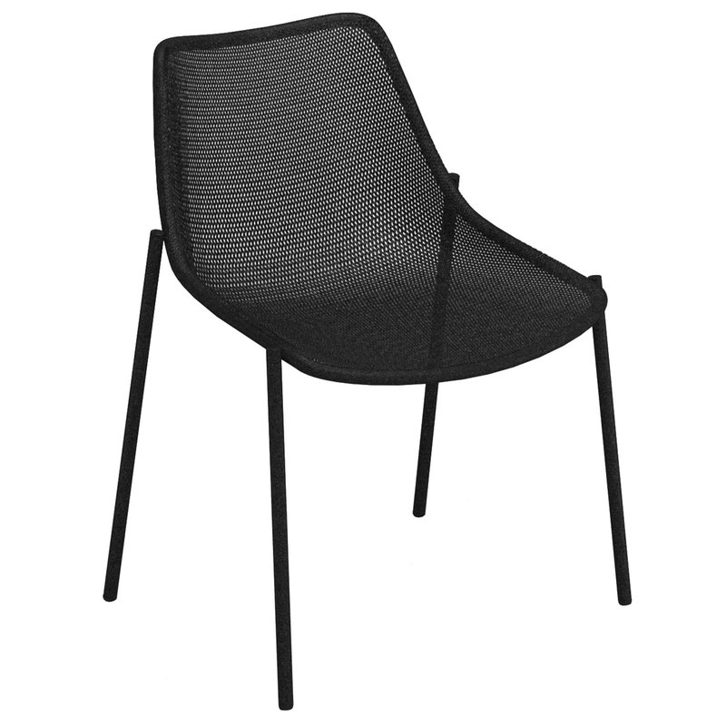 Emu Round chair, black
