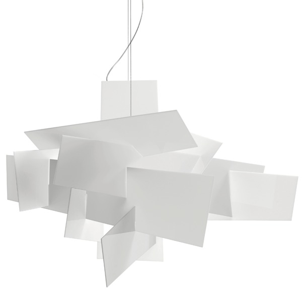 Foscarini Lampada a sospensione Big Bang, bianca | Finnish Design Shop