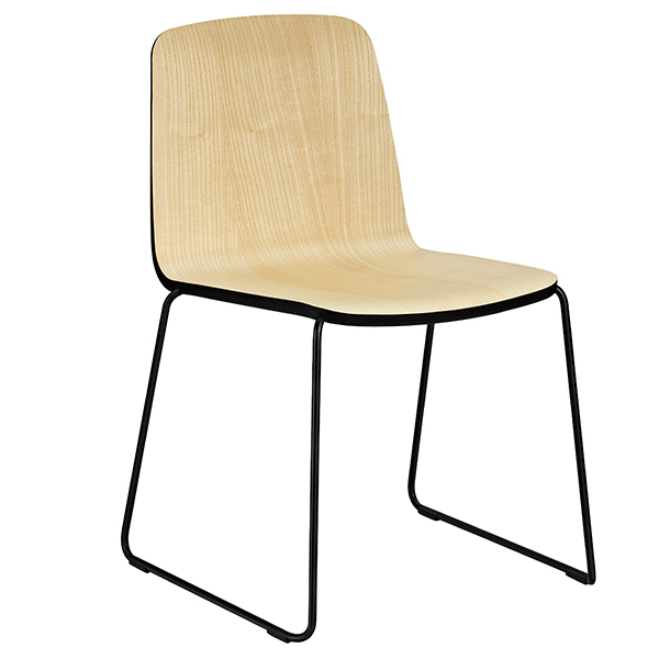 Normann Copenhagen Just Chair, saarni-musta