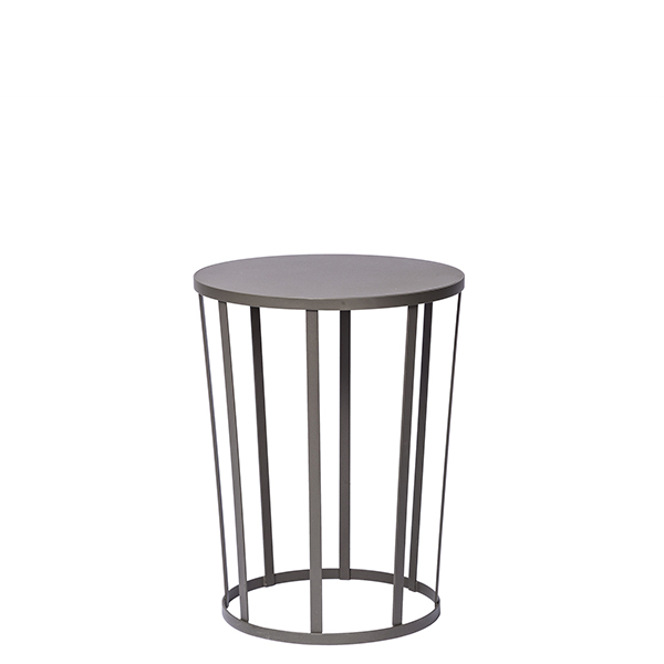 Petite Friture Hollo side table, anthracite