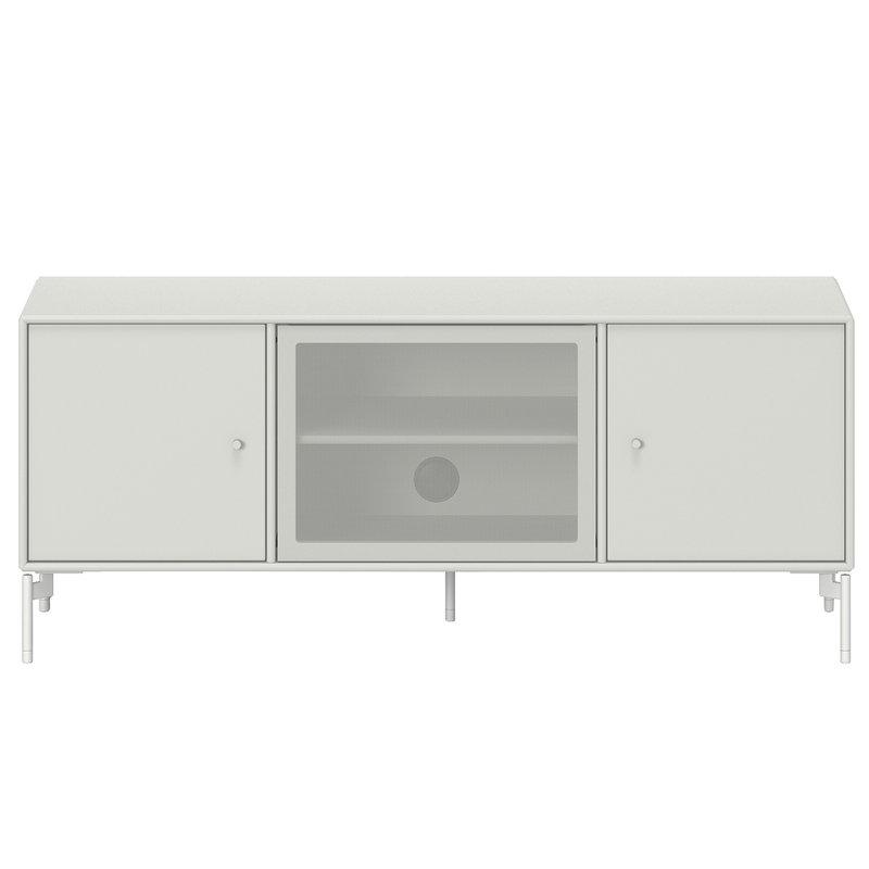 Montana Furniture Octave 1 TV&Sound unit, Snow legs - 09 Nordic