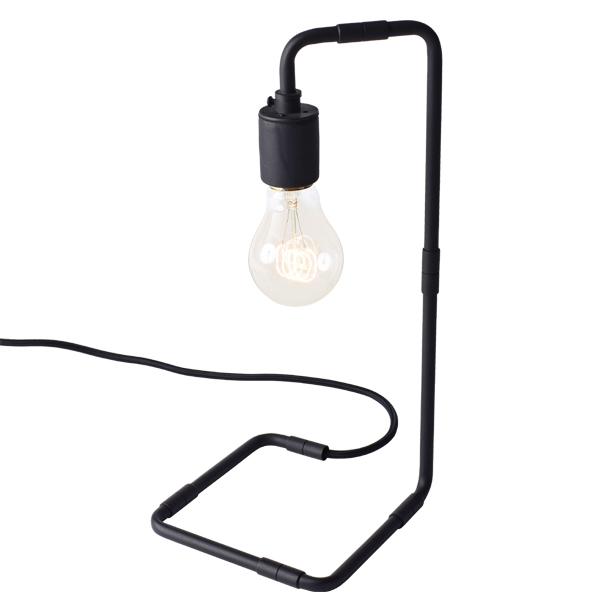 Menu Tribeca Reade table lamp, black