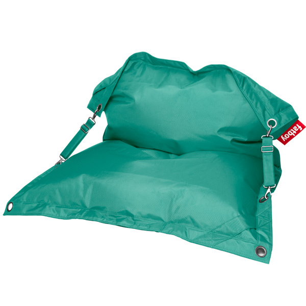 Fatboy Buggle Up bean bag, turquoise