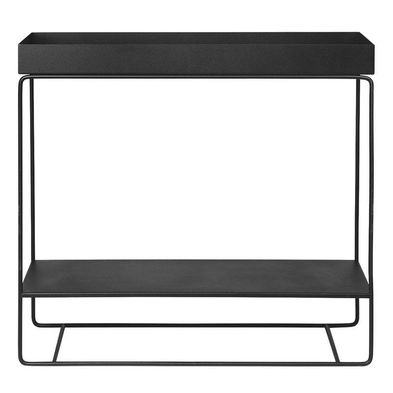 Ferm Living Plant Box, two-tier, black