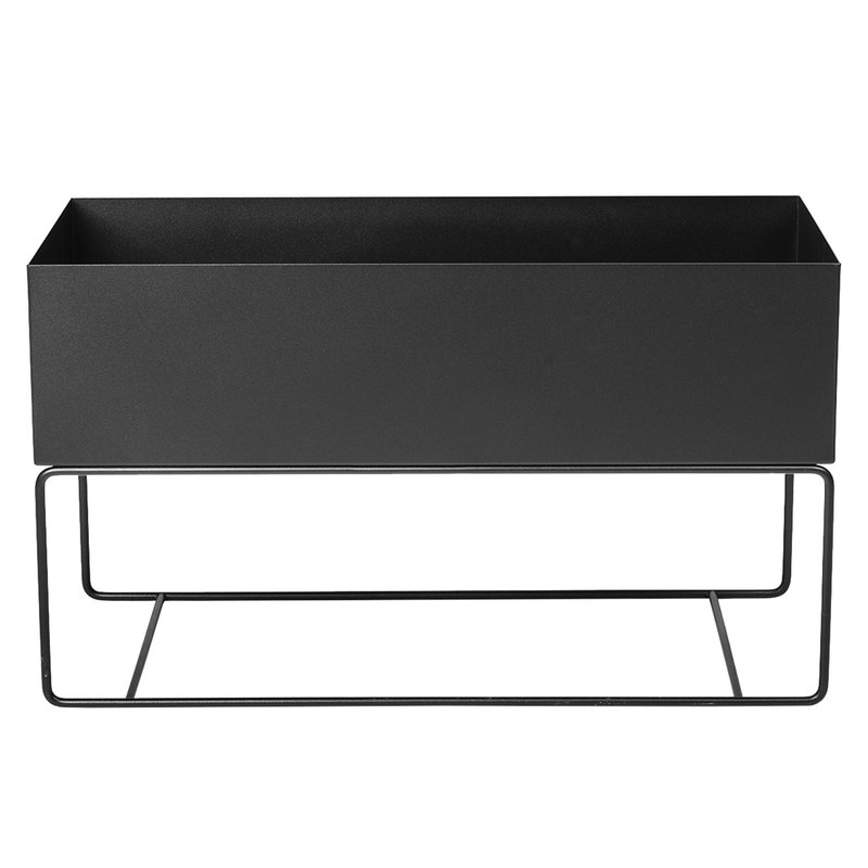 Ferm Living Plant Box, large, black