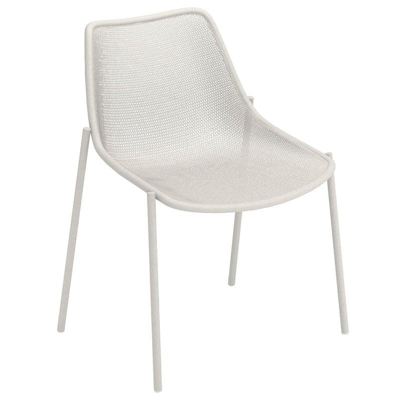 Emu Round chair, matt white
