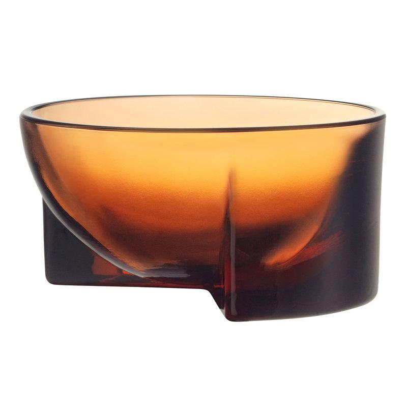 Iittala Kuru glass bowl 130 x 60 mm, seville orange
