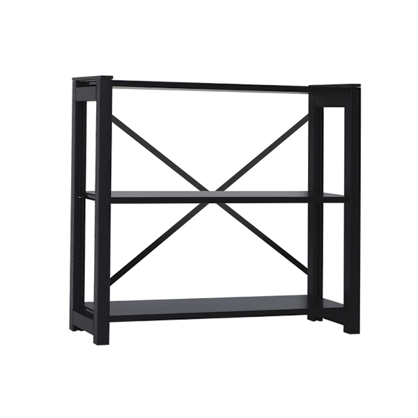 Lundia Classic open shelf, low, black