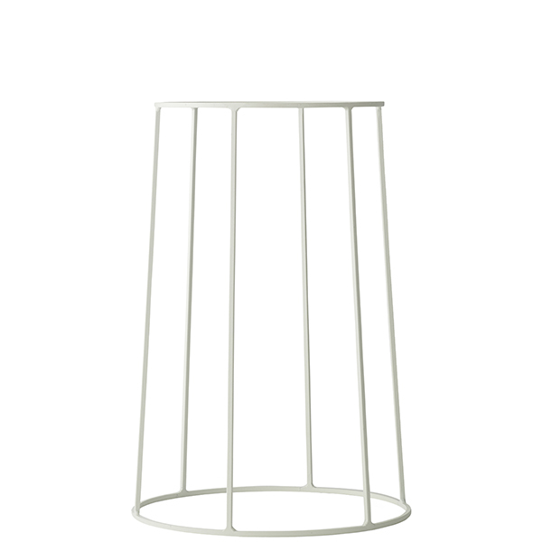 Menu Wire base, medium, white